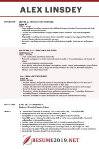 Combination resume 2019 template